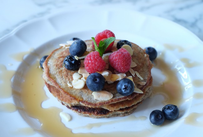 Gluten and egg free pancakes