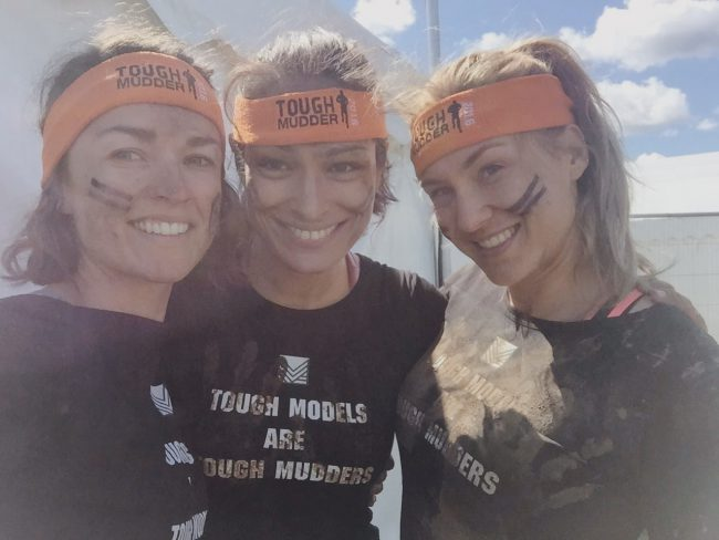 """So I did a Tough Mudder last weekend! For those of you who don't know what that is, it is described as """"seriously gruelling"""" and  """"probably the toughest event on the planet"""" – a 12 mile hill, mud and obstacle course designed to drag you out of your comfort zone by testing your physical strength and stamina, and your mental determination and resilience. There have been over 200 events over 6 countries and the event was founded by a British former anti-terrorism agent (surprise, surprise).  I just read a random stat that there are over 10,000 Tough Mudder tattoos, testament to it being both a badge of honour to be celebrated with pride and to its cult status among aficionados.  I'm going to share a few of my thoughts on it, tell you why you should try one and give you a few training and course tips."""