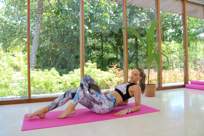How do women fit fitness in around the demands of career and family? The sports luxe movement.  Fitness marginal gains. Fitness in minutes -  as worthwhile as long sessions? Style pointers and modeltips on flattering leggings. The best gym accessories.