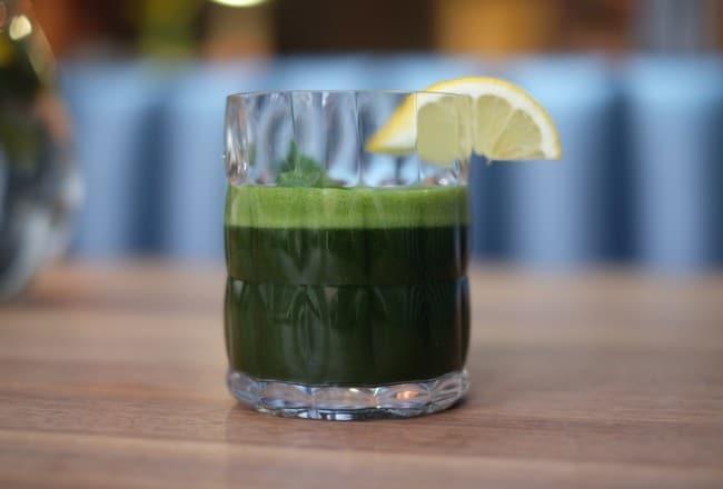 Green vegetable juice