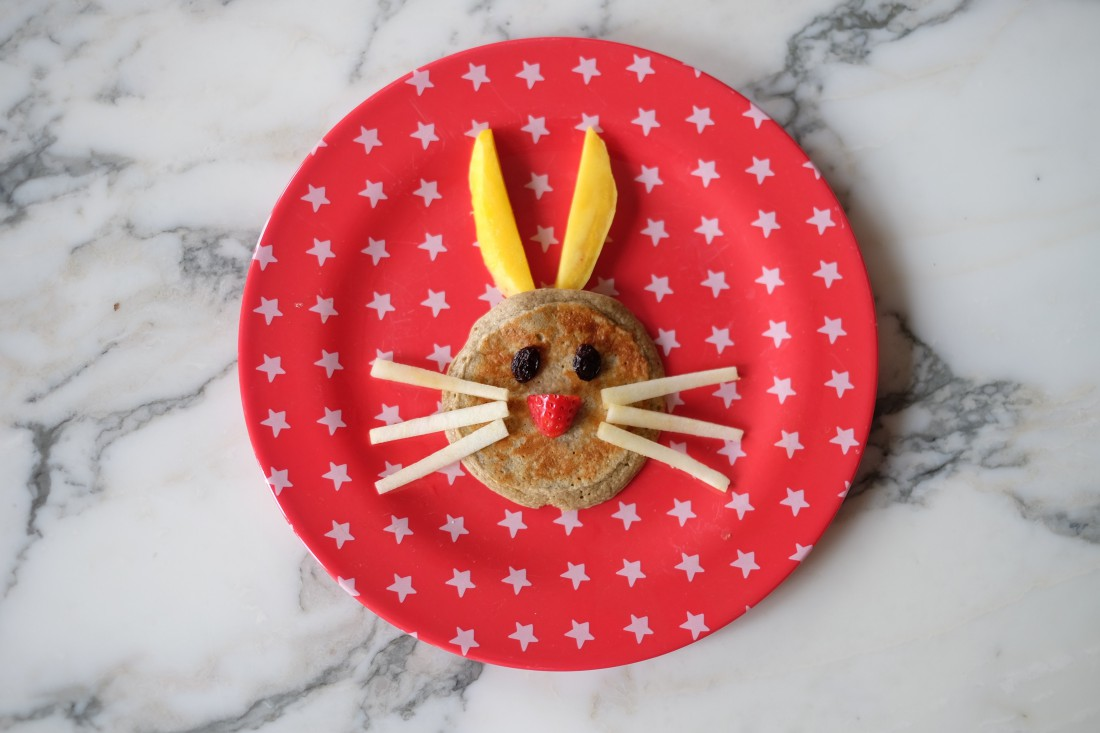 Here are my gluten free Easter pancakes which kids and adults love! Instead of flour I use gluten free oats and high fibre oatbran.