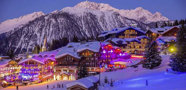 Ultimate luxury ski trip! Ski-touring (skinning), the most glam indoor sports/swim centre and where I ate and slept in this chocolate box ski resort.